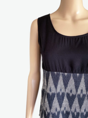 Sort ikat top, A.N.D., Fair Fashionista